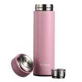特美刻(TOMIC)保温杯 不锈钢真空男士女士水杯子1BBS9029 粉色