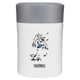 THERMOS膳魔师焖烧罐470ml高真空不锈钢保温罐 雪豹系列 TCLA-471WH(SL)