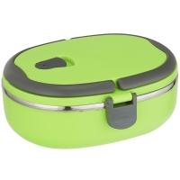 邦格尼(bungni)椭圆形密封 便当盒 保温饭盒 700ml 绿色