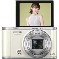 卡西欧(CASIO)EX-ZR3700 数码相机(3.0英寸 广角25mm 180度可上翻液晶屏)美颜自拍相机 白色