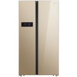 美的(Midea) 516升 风冷无霜对开门冰箱 京东微联智能操控 66cm薄身设计 BCD-516WKZM(E)浮光跃金