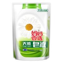 妈妈壹选天然皂液(倍柔洗衣液)500g(补充装)
