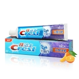 佳洁士(Crest)3D炫白  沁醒冰橙牙膏180克