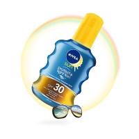 妮维雅(NIVEA)透明防晒喷露150ml(防晒霜 隔离SPF30PA++ 防水防暴晒 德国进口)