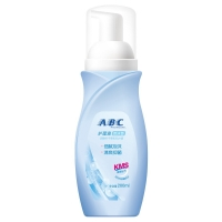 ABC 泡沫型 卫生护理液 200ml/支(含KMS健康配方)新旧包装随机发货