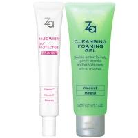 姬芮(Za)甜蜜卸妆隔离2件套(隔离霜35g+卸妆蜜100ml)(隔离防晒 深层清洁)