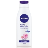 妮维雅(NIVEA)温润透白乳液 200ml(身体乳 保湿滋润 提亮肤色)