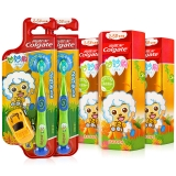 高露洁(Colgate) 妙妙刷2-5岁儿童牙膏牙刷套装(香橙味牙膏 40g×3+妙妙刷牙刷×2)