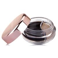 谜尚(MISSHA) 斯黛尔二合一眼线膏 深黑银铜 4.7g+1.6g