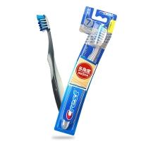 佳洁士(Crest) 全优7效牙刷(斜向交叉刷毛 清洁更彻底 舌苔清洁)(美国进口)