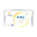 ABC 纤薄 绵柔表层 日用卫生巾 多片装 240mm*18片(KMS配方)