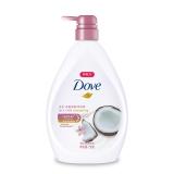 多芬(DOVE)沐浴露 椰乳和蔓茉莉 丰盈宠肤沐浴乳730g