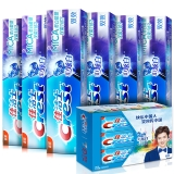 佳洁士(Crest)3D炫白双效牙膏180g6支装 鹿晗定制装(新老包装随机发货)