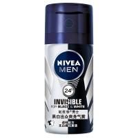 妮维雅(NIVEA)男士黑白出众爽身气雾 35ml(护肤品 止汗走珠气雾 腋下脱毛修护)