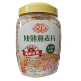 高纤宝快熟燕麦片,900g*2桶