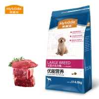 麦富迪Myfoodie宠物天然营养狗粮大型犬幼犬粮4kg