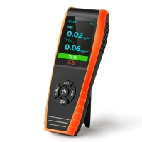 乐控 甲醛 PM2.5检测仪 TVOC室内霾表 空气质量检测仪手持式便携式雾霾检测 LKC-1000S+