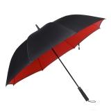 obolts30寸超大伞雨伞长柄超大号男女士晴雨两用2人三人成人暴雨黑色雨伞自动双层
