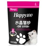 顽皮wanpy Happy100水晶猫砂4L