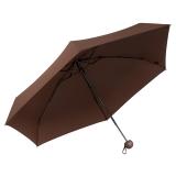 蕉下(bananaunder) 胶囊系列(栗木棕) 五折拒水雨伞 男女防水便携迷你折叠伞