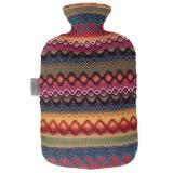 费许(FASHY)德国原装进口PVC材质秘鲁风情外套热水袋2.0L红色fashy6757