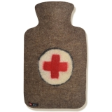 Hugo Frosch纯羊毛外套系列注水热水袋 PVC防爆暖手宝 红十字会0703