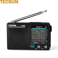 德生(TECSUN)R-909 老人收音机 9波段便携老年 调频广播半导体