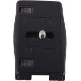 金钟(Velbon)QRA-35L Shoe BLACK 镁合金快装板 快装板长度达到77mm 安全稳定