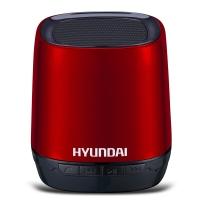 现代(HYUNDAI) i80 无线蓝牙音箱 语音通话 TF插卡 语音提示 来电回拨 锂电供电音响 红色