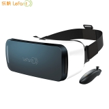 乐帆(Lefant)VR眼镜 虚拟现实VR一体机 3D智能巨幕高清 头戴式头盔 通用遥控器手柄