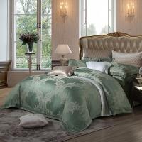 梦洁家纺出品 MAISON 床品套件 提花四件套 床单被罩 暮光森林 1.8米床 248*248cm