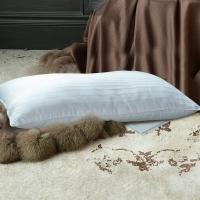 梦洁家纺出品 MEE 枕芯 丝柔混合蚕丝舒颈枕头 纯棉提花面料 单只装 50*70cm