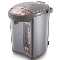 象印(ZO JIRUSHI)电热水瓶家用 304不锈钢内胆 四段保温电热水壶 微电脑多功能可定时 CD-WBH30C 3L电水壶 银棕色