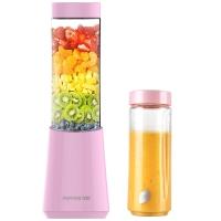 九阳(Joyoung)榨汁机 双杯 快速料理 可搅拌碎冰 迷你型 便携式L3-C1 粉色