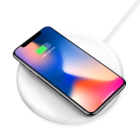 麦极客(MGeek) 能量盘 无线充电 提速快充 支持iPhone 8/X 三星S7/S8等型号 (多功能通用款 支持无线加热设备)
