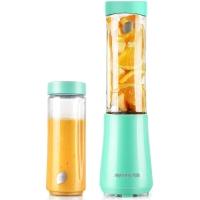 九阳(Joyoung)榨汁机 双杯 快速料理 可搅拌碎冰 迷你型 便携式L3-C1 绿色
