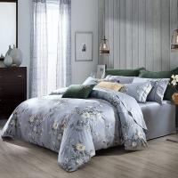 梦洁家纺出品 MAISON 床品套件 100支长绒棉印花四件套 床单款 维罗纳庄园 1.8米床 248*248cm