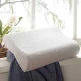 梦洁家纺出品 MAISON 枕芯 乳胶枕头 舒缓乳胶曲线枕 单只装 40*60*12/10cm