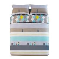 佳佰 被套被罩 单件 纯棉斜纹 品味优雅 适用1.5米双人床(200*230)