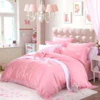 梦洁家纺出品 MAISON 床品套件 浪漫婚庆床品提花九件套 床单被罩 马上幸福 1.8米床 248*248cm
