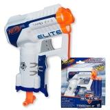 孩之宝(Hasbro)NERF热火 软弹枪 精英系列 凌鹰发射器(蓝橙)户外玩具A3845