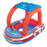Bestway儿童游泳小船 宝宝游泳装备(1-2岁适用、UV防晒遮阳棚设计)34093