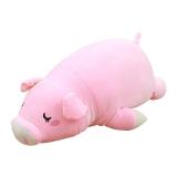 爱满屋 猪公仔毛绒玩具 羽绒棉趴趴猪公仔 35cm