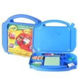 绘儿乐(Crayola)绘画工具 彩笔画笔 diy玩具 手指画颜料剪刀蜡笔水彩笔 绘画套装儿童文具工具箱 04-5674