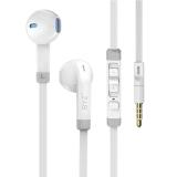 BYZ S800(高保真清晰重低音)音乐入耳耳塞式 手机耳机 白色