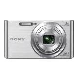 索尼(SONY) DSC-W830 数码相机 银色(2010万有效像素 8倍光学变焦 25mm广角 全景扫描)