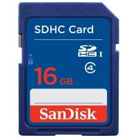 闪迪(SanDisk)16GB SDHC存储卡 Class4 SD卡