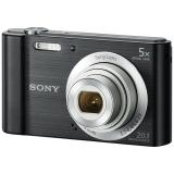 索尼(SONY) DSC-W800 数码相机 黑色(2010万像素 5倍光学变焦 2.7英寸屏 26mm广角)
