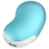 奥利弗充电宝暖手宝智能充电暖宝宝5200mAh相思豆款天空蓝色