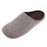 Homix 冷冻定型静音保暖家居棉拖鞋 茶色 40-42码